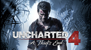 Uncharted 4: A Thief's End's Logo