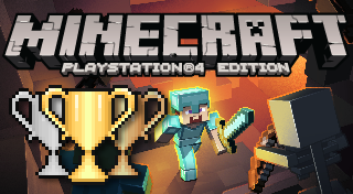 Minecraft: PlayStation 4 Edition's Logo