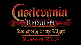 Castlevania Requiem: Symphony Of The Night & Rondo Of Blood's Logo