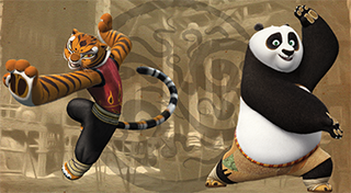 Kung Fu Panda: Showdown of Legendary Legends's Logo