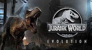 Jurassic World Evolution's Logo