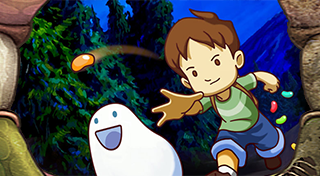 A Boy and His Blob's Logo