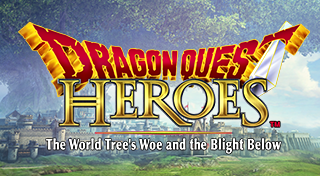 DRAGON QUEST HEROES: The World Tree's Woe and the Blight Below's Logo