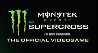Monster Energy Supercross - The Official Videogame's Logo