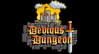 Devious Dungeon's Logo