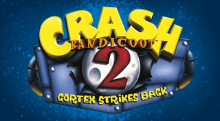 Crash Bandicoot 2: Cortex Strikes Back's Logo