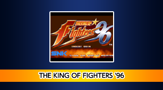 ACA NEOGEO THE KING OF FIGHTERS '96's Logo