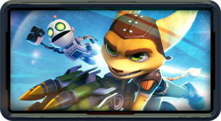 Ratchet & Clank™: Full Frontal Assault's Logo