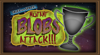 Tales from Space: Mutant Blobs Attack's Logo