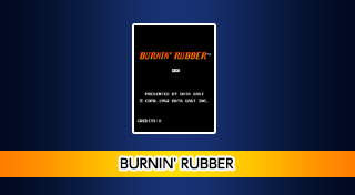 Arcade Archives BURNIN' RUBBER's Logo