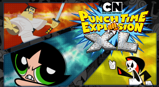 Cartoon Network Punch Time Explosion XL's Logo