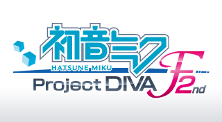 初音ミク -Project DIVA- F 2nd's Logo