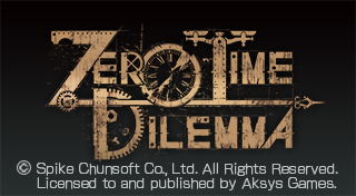 Zero Time Dilemma's Logo