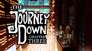 The Journey Down: Chapter Three's Logo