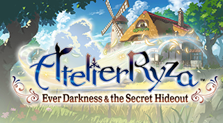 Atelier Ryza: Ever Darkness & the Secret Hideout's Logo