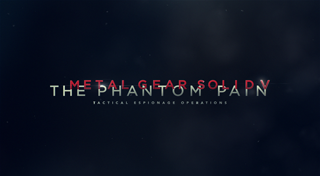 METAL GEAR SOLID V: THE PHANTOM PAIN's Logo
