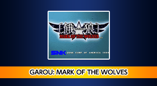 ACA NEOGEO GAROU: MARK OF THE WOLVES's Logo