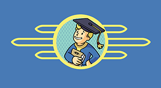 Fallout Shelter 's Logo