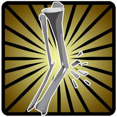 Hals- und Beinbruch