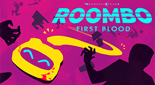 Roombo: First Blood's Logo