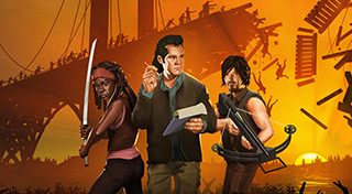 Bridge Constructor: The Walking Dead 's Logo
