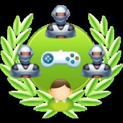 4-Spieler-Einzelspiel gegen schwere Computergegner gewonnen