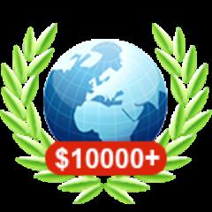 Onlinespiel mit über 10.000 $ gewonnen