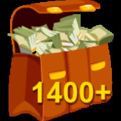 Über 1400$ Miete eingenommen