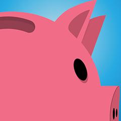 Riesiges Schweinchen