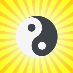 Sei das Yin zu meinem Yang