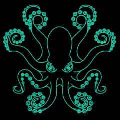Oktopus-Köder