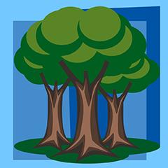 Wald abgeschlossen