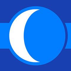 Omi auf dem Mond