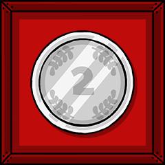 Silbermedaille