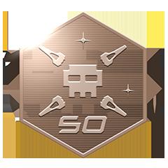 50 Abschüsse