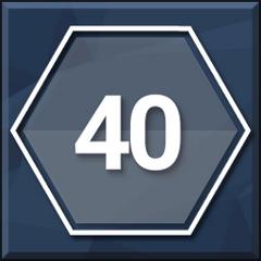 Stufe 40!